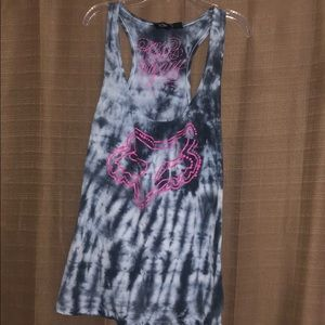 Fox tank top size large